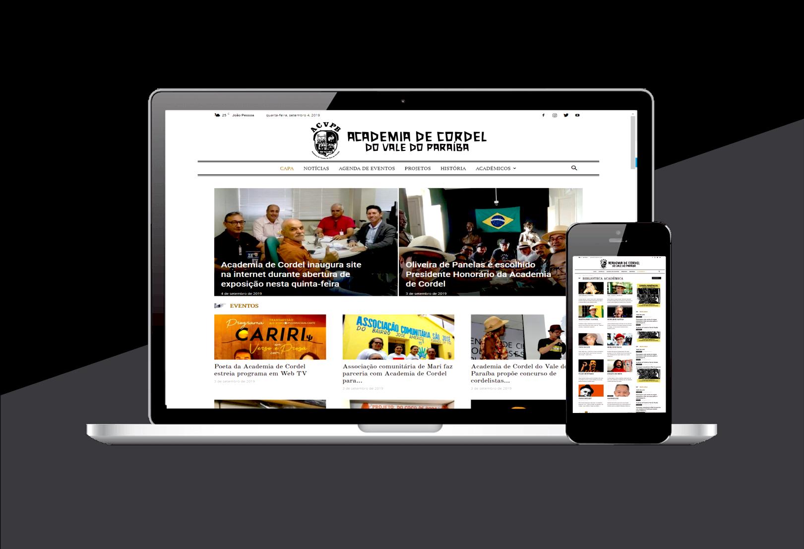 Photo of Academia de Cordel inaugura site na internet durante abertura de exposição nesta quinta-feira