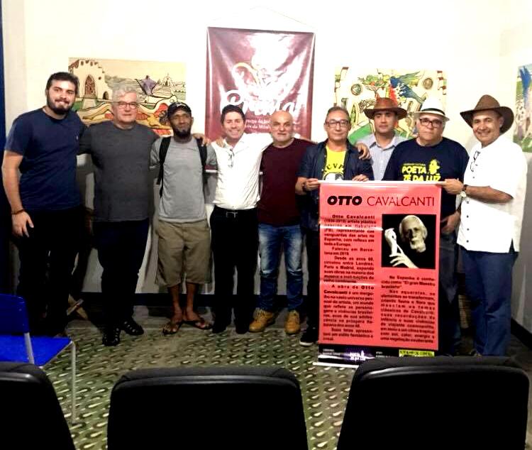 Photo of Poetas reverenciam artista plástico itabaianense na abertura de exposição no Casarão dos Azulejos