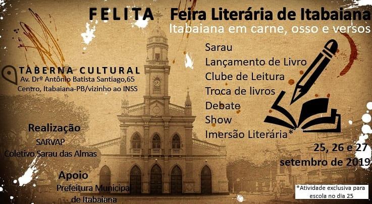 Photo of Poetas acadêmicos lançam livros e folhetos na Feira Literária de Itabaiana