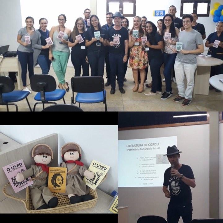 Photo of No dia do livro, Marconi Araújo lança cordel no UNIPÊ