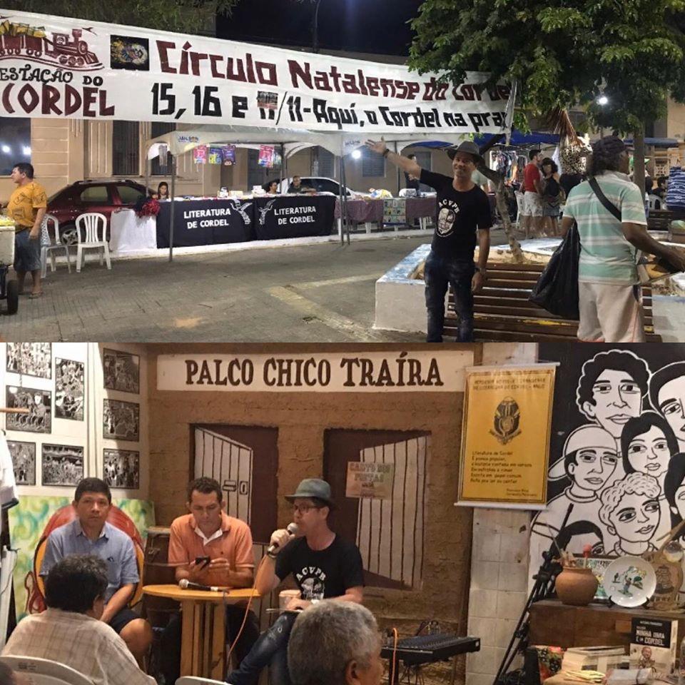 Photo of Marconi Araújo participa de debate sobre cordel em evento no Rio Grande do Norte