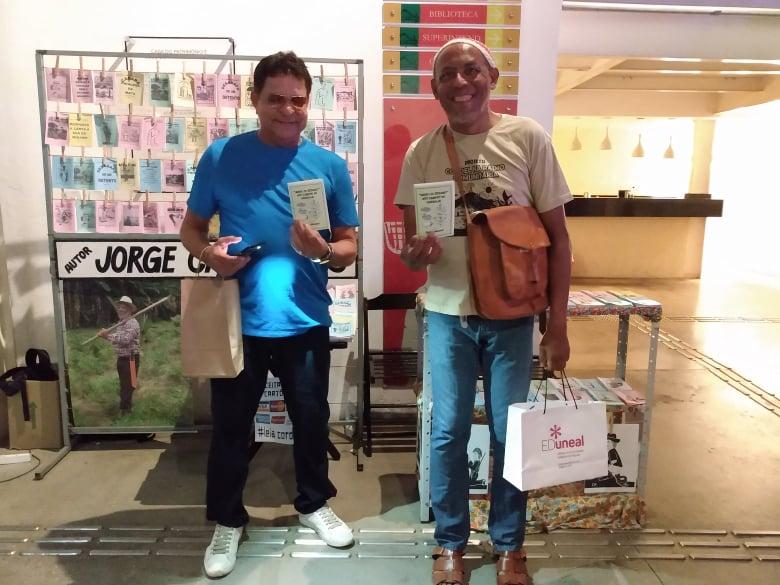 Photo of Sócios correspondentes da Academia lançam folheto do gergelim em feira de cordel em Maceió