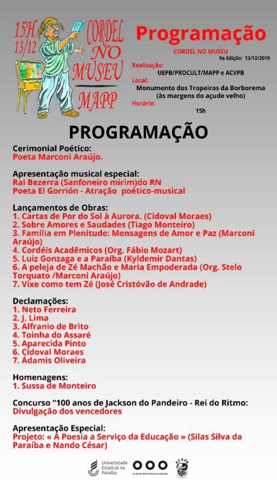 Photo of Programação do evento