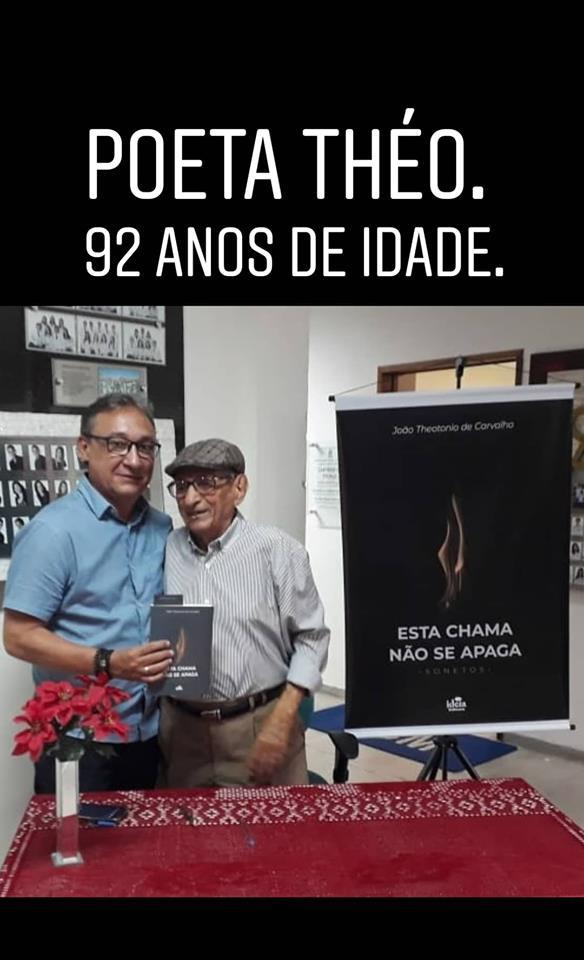 Photo of Poeta Theo comemora 92 anos com lançamento de livro no Centro de Ciências Médicas da UFPB