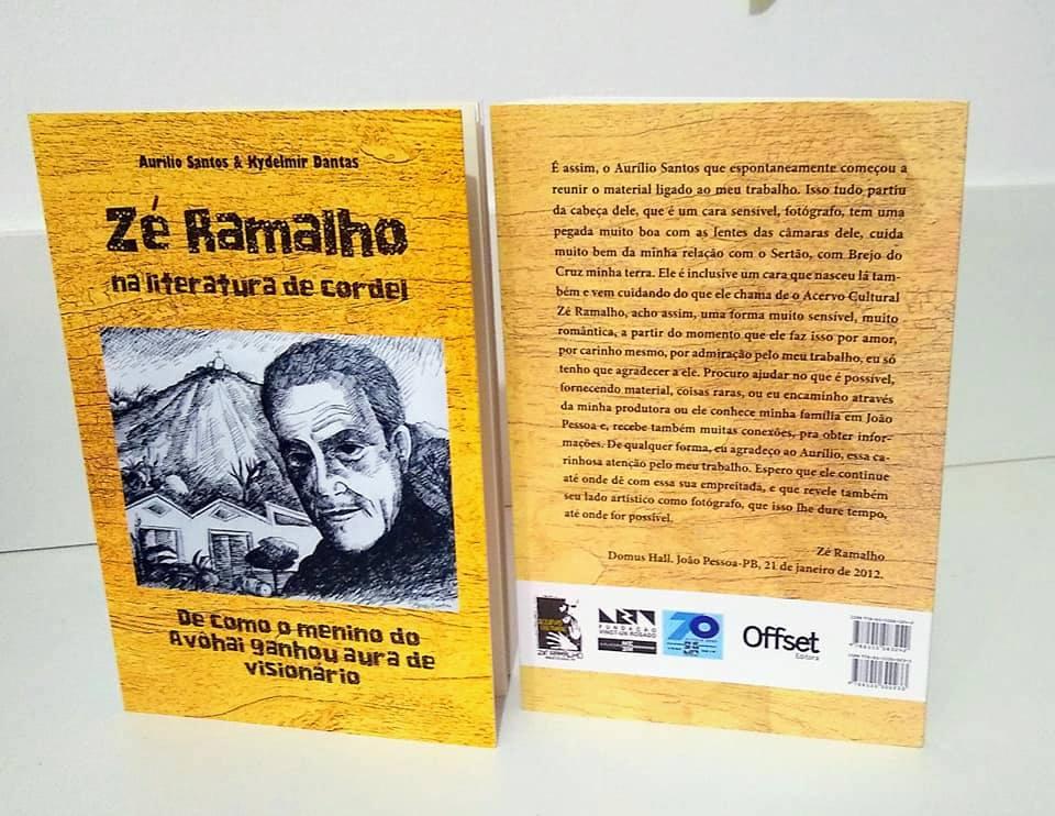 Photo of Poetas acadêmicos organizam coletânea sobre Zé Ramalho
