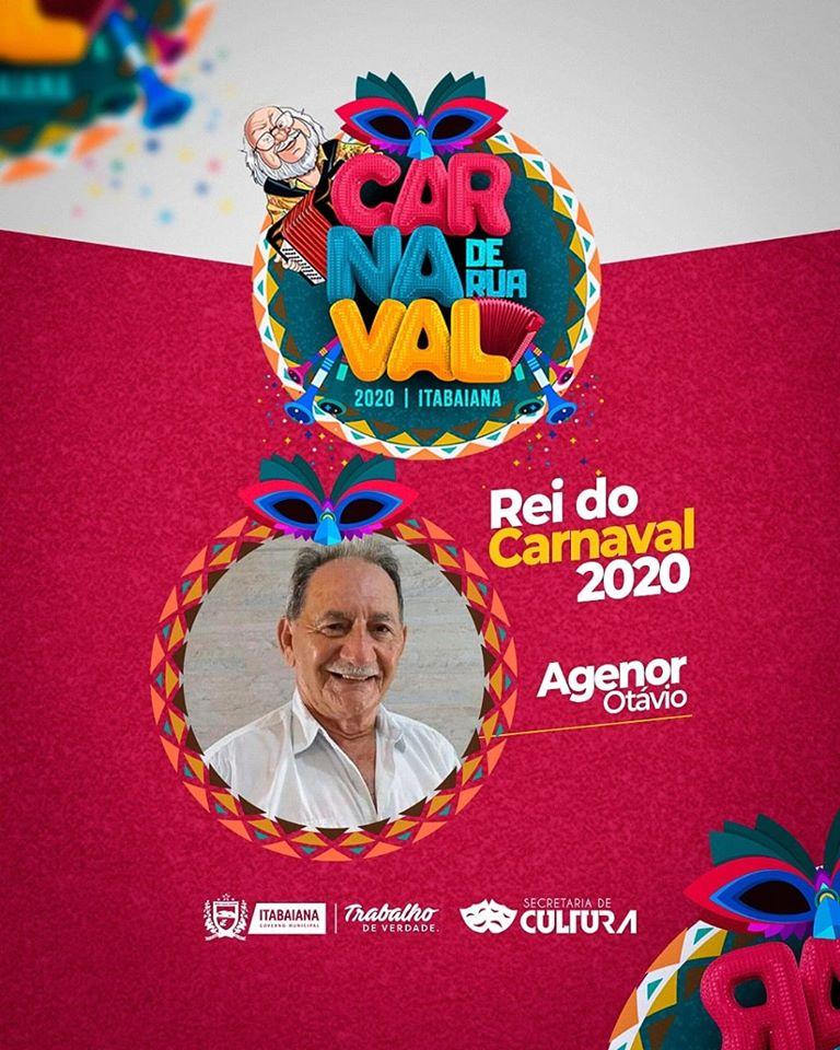 Photo of Poeta da Academia é escolhido para Rei do Carnaval em Itabaiana
