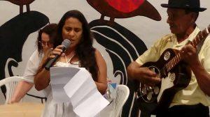 Photo of Poetisa acadêmica brilha em sarau literário do Ministério da Saúde