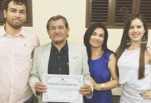 Photo of Poeta Bartolomeu Xavier recebe diploma de cidadania caiçarense