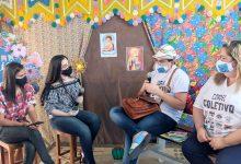 Photo of Neto Ferreira debate poesia popular com estudantes do cariri paraibano
